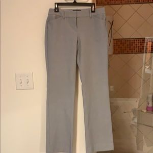 Express Editor Barely Boot Gray Pants 2p